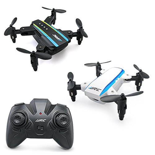 JJRC Drone H345 Mini Drone Foldable Drone Quadcopter, 2.4G 4CH 6 Axis Gyro RC Drone JJ1 JJ2 Two in One, Toy Christmas Gift like JJRC H36 Eachine e010 by Crazepony