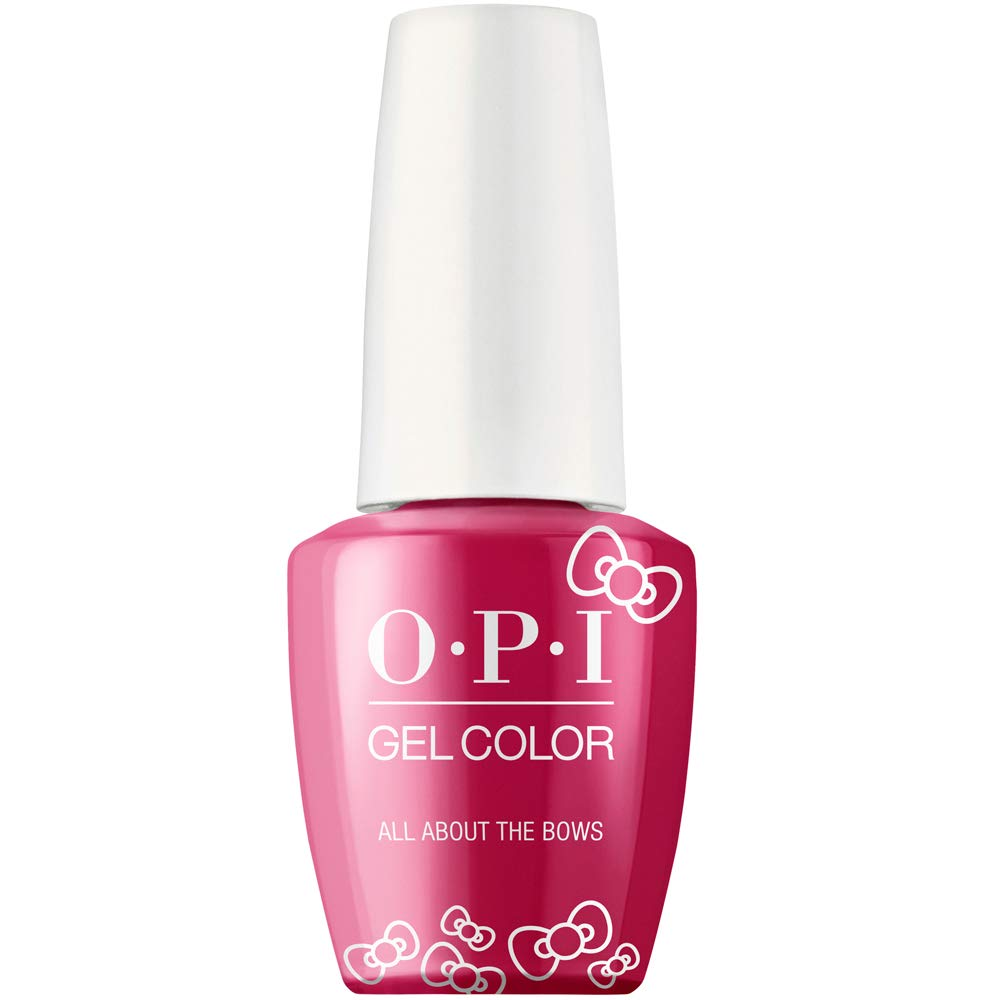 Opi Hello Kitty Gel Nail Polish Collection Gel Color All About The Bows