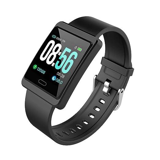 Reloj Inteligente Reloj Digital Dicomi Sports Fitness Rastreador de presión Arterial Reloj Digital: Amazon.es: Relojes