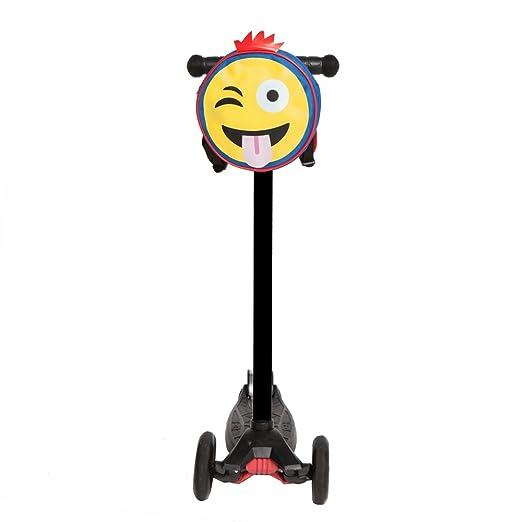 Scooterearz - Bolsas para patinete con diseño de Emoji (aptas para bicicletas o scooters)