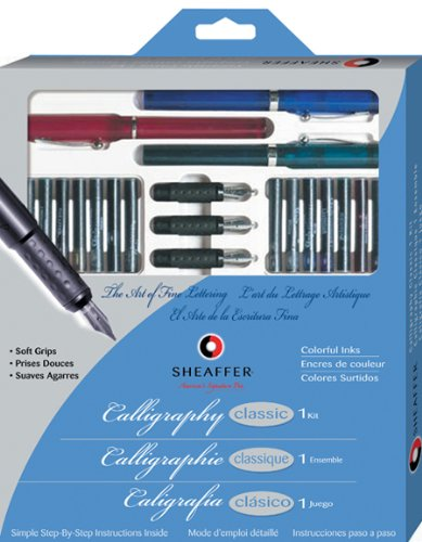 SheafferR-Calligraphy-Kit-Set-Of-7