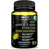 USDA Organic Apple Cider Vinegar - 90 Capsules For Healthy Diet & Weight Loss- 100% Raw, Vegan and Non-GMO - Supports Body Detox - Made in USA - Add to Garcinia Cambogia
