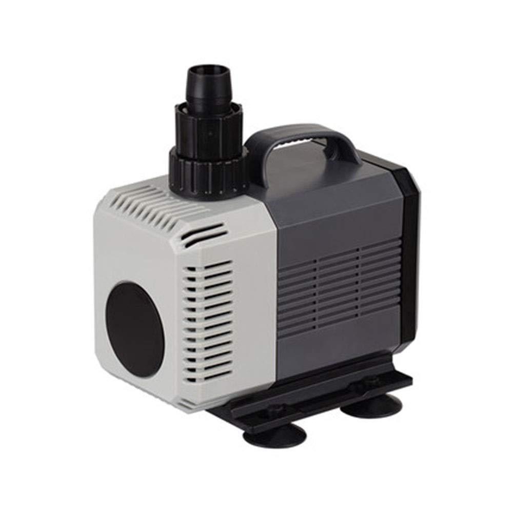Black 60W Black 60W LIFUREN Fish Tank Oxygen Pump Submersible Pump Pump Mute Circulating Pump Aquarium Power Saving (color   Black, Size   60W)