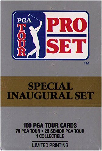 Card Golf Set Pro (Pro Set PGA Tour Special Inaugural Set Trading Cards - Complete Set in Box)