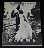Poems, Stefan Brecht, 087286099X