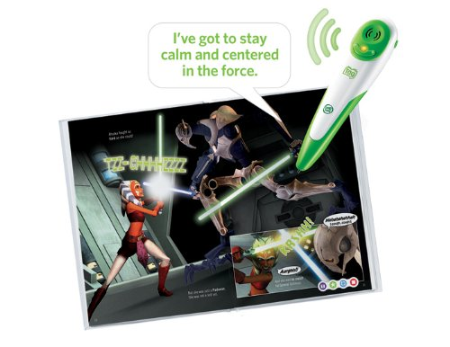 Leapfrog Tag Activity Storybook Star Wars: The Clone Wars: Rescue In The Sky by LeapFrog (Image #2)