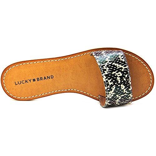 Lucky Brand Deldonna Mujer Lona Sandalia