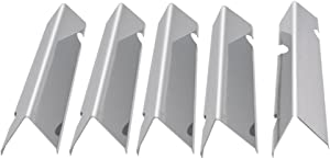 onlyfire Stainless Steel Flavorizer Bars for Weber Genesis II 300 Series Gas Grill (Front-Mounted Control Panel)