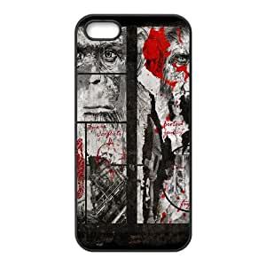 Dawn Of The Planet Of The Apes iPhone 5 5s Cell Phone Case Black QD9349199