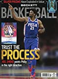 New Current Beckett Basketball Monthly Price Guide Card Mag March 2018 Joel Embiid Philadelphia 76ers