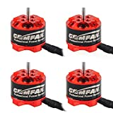 4pcs Gemfan 1105 7500KV Brushless Motors for Micro FPV Racing Drone Mini Quadcopter Multirotors