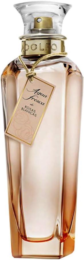 Adolfo Dominguez Agua Fresca de Rosas Blancas Agua de Tocador Vaporizador - 200 ml