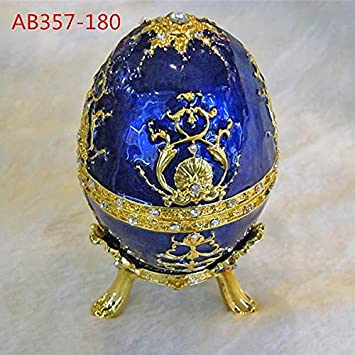Amazon egg shaped jewelry boxes and packaging gift box egg shaped jewelry boxes and packaging gift box inspired egg jewelry boxes earrings storage box negle Images