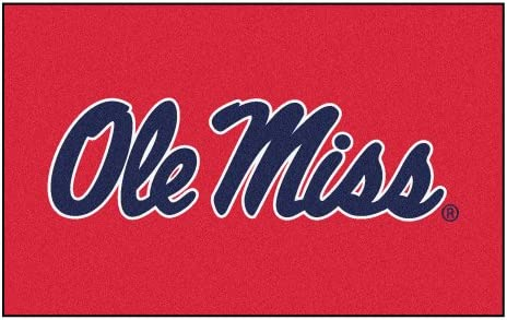 FANMATS NCAA University of Mississippi – Ole Miss Rebels Nylon Face Ultimat Rug
