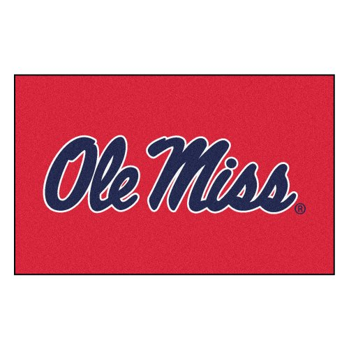 Tailgater Mississippi Rug (NCAA University of Mississippi (Ole Miss) Rebels Ulti-Mat Rectangular Area Rug)