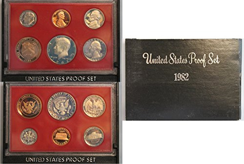 1982 S US Proof Set Original Government Packaging