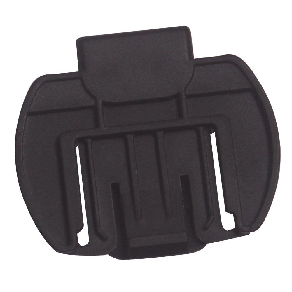 Intercomunicació n clip, Evary Intercom / Walkie clip de accesorio/ Sostenedor Soporte para el V6 / V4 casco de la motocicleta del intercomunicador de Bluetooth Interphone V6-C