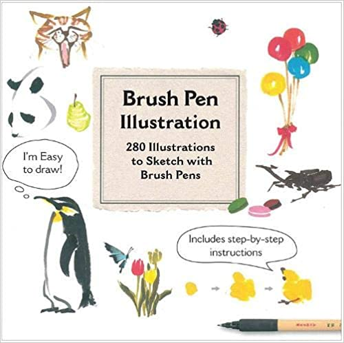 More Than 200 Ideas for Drawing with Brush Pens Brush Pen Illustration