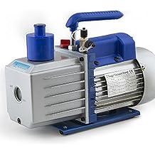 "ARKSEN 2-Stage Deep Vacuum Pump 1/2HP, 5CFM Refrigerant 1/4"" & 3/8"", R410a R134 HVAC, w/ Oil Bottle"