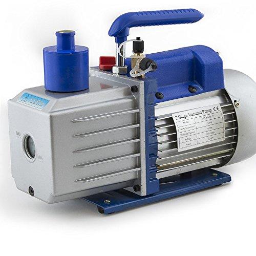 Vacuum Pump System Design : Arksen stage deep vacuum pump hp cfm refrigerant