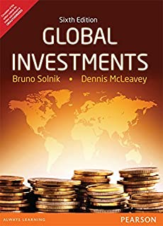 Amazon com: Global Investments (6th Edition) (9780321527707): Bruno