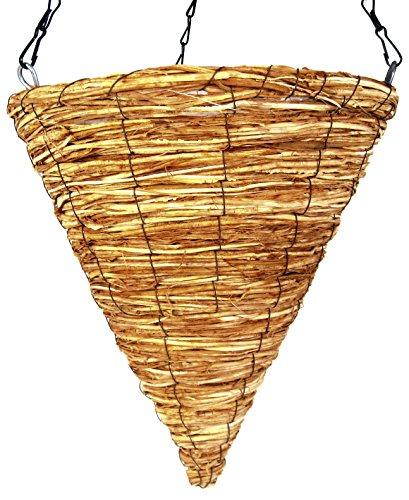 Sunburst Basket - Super Moss (29667) Wood Woven Baskets - Cone Style, Sunburst 12
