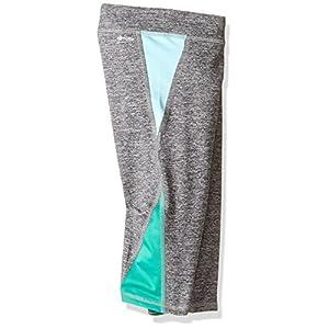 adidas Big Girls' Active Capri Tight Legging, Dark Gry, XS