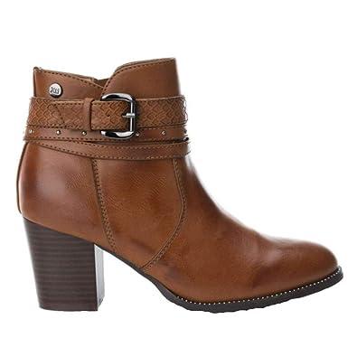 4eb865efc3a7 Xti, Bottes pour Femme - Beige - Camel, 38 EU EU: Amazon.fr: Chaussures et  Sacs