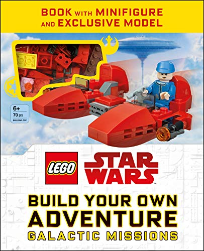 LEGO Star Wars Build Your Own Adventure Galactic Missions (LEGO Build Your Own Adventure) -  DK, Paperback