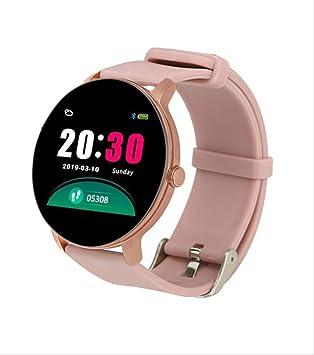 CNQ&DZ Reloj Inteligente para Mujer Reloj Recordatorio ...