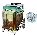 ZUCA Cacti Sport Insert Bag (Frames Sold Separately) and Matching Lunchbox Kit