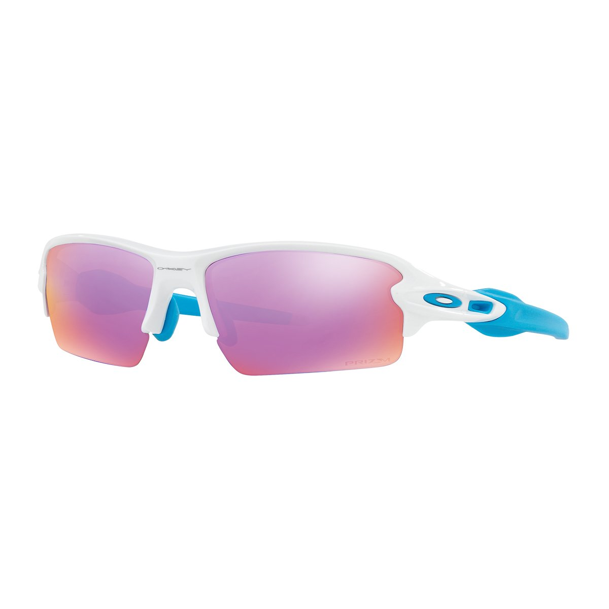 b513f350664 Amazon.com  Oakley Flak 2.0 Sunglasses White Prizm Golf  Clothing