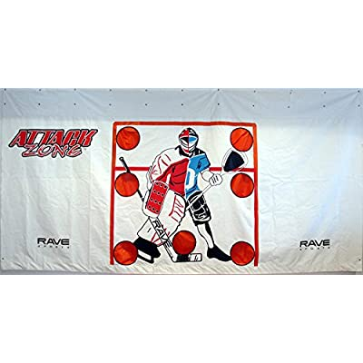 RAVE Sports Attack Zone 16' x 8' Hockey/Lacrosse Tarp: Sports & Outdoors