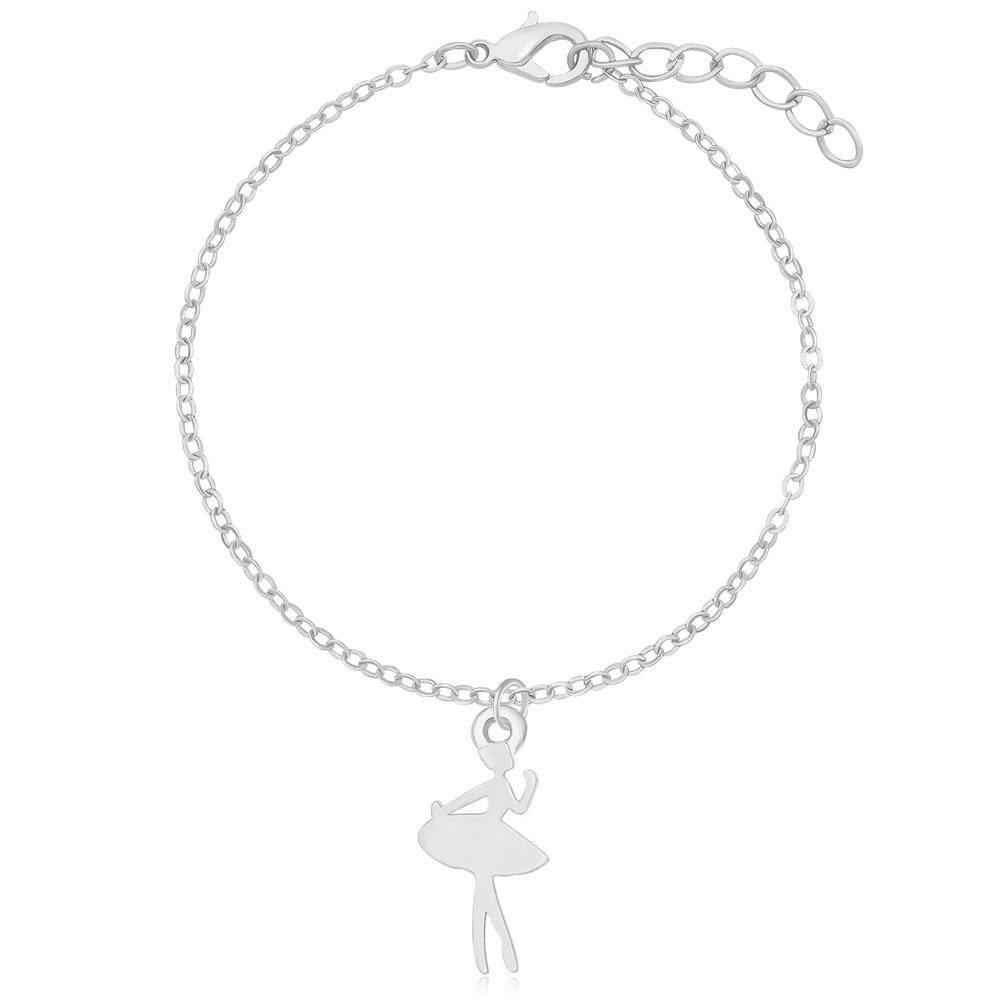 MANZHEN Charm Ballet Dance Ballerina Dancer Bracelet Girls Recital Gift