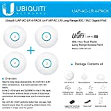 Ubiquiti UAP-AC-LR 4-PACK UniFi AP AC LR Long Range 802.11AC Gigabit PoE