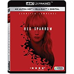 RED SPARROW arrives on 4K Ultra HD, Blu-ray and DVD May 22 from Fox