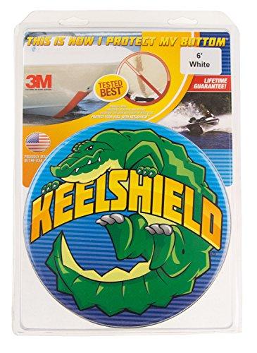 Shield Canoe - KeelShield KS-6WHT Keel Protector (6-Feet, White)