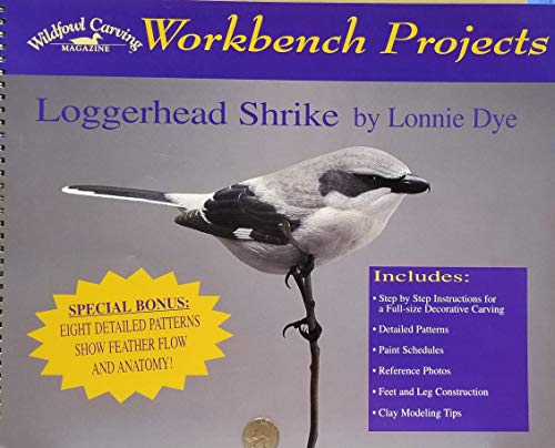 Workbench Projects - Loggerhead Shrike (Wildfowl Carving Magazine)