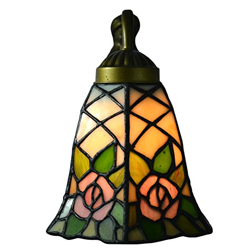 Nuomeiju-Wall-Porch-Lamp-Floral-Seashell-Shade-and-Metal-Fixture-NMJ105