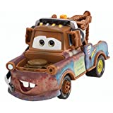 Disney Cars Die Cast 95 Pit Crew Race Team Mater With Headset