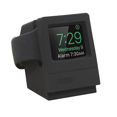 WERO Apple Reloj Soporte [soporta mesita de Noche Modo] para Apple Reloj Serie 3
