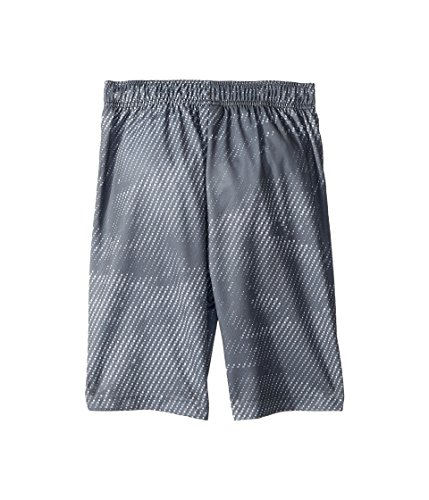 Nike Boy's Athletic Dry Printed Fly Comfortable Elastic Training Shorts with Pockets (Cool Grey/X-Small) by Nike (Image #2)