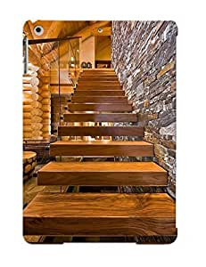 8b3034d5085 Crooningrose Rustic Feel Stairs Durable Ipad Air Tpu Flexible Soft Case With Design