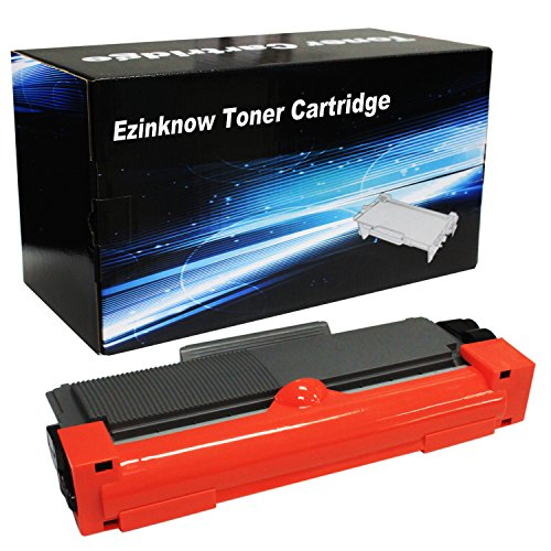 Ezinknow TN660 Compatible Toner Cartridge Replacement for Brother TN660 ( Black , 1-Pack )