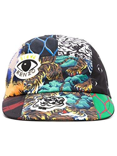 kenzo-mens-f665ac200f23mu-multicolor-cotton-hat