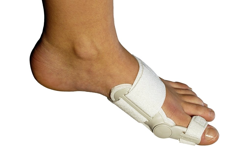 AlphaOrthotics Bunion Aid Post Surgical Splint, White by Alpha Orthotics