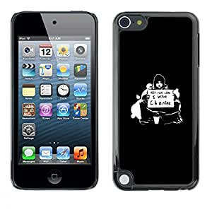 iKiki Tech / Estuche rígido - ¿Quieres Cambio - Apple iPod Touch 5