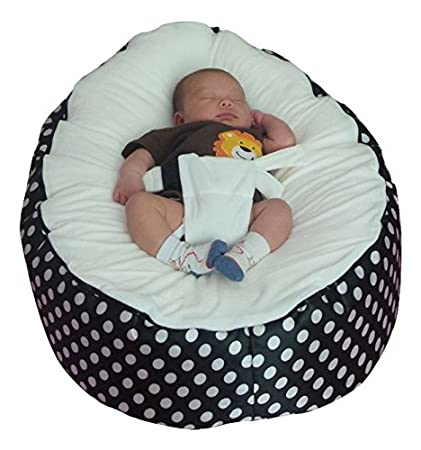 Extra Large Baby Bean Bag with Adjustable Safety Harness & 2 ...