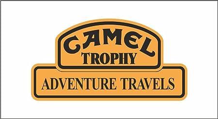 Graphic-lab Autocollant Camel Trophy Auto Rally Formule 1 Racing Sticker 10 Cm