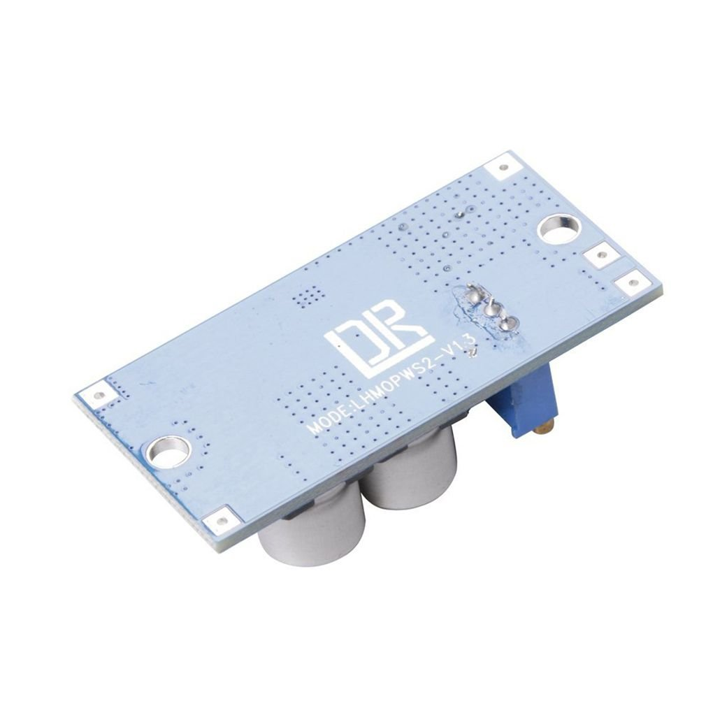 Dpolrs DC-DC LM2596HV Buck Converter 5V-60V to 1.25V-26V Step-down Power Module 48V to 3V//5V//12V Voltage Regulator
